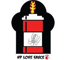 HP Love Sauce - RED Photographic Print