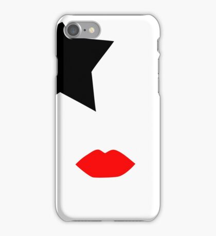 Paul Stanley from KISS band, Starchild makeup iPhone Case/Skin