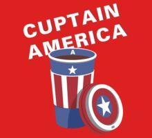 Cuptain America One Piece - Long Sleeve