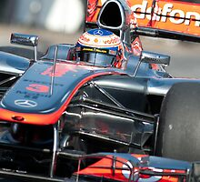 Jenson Button by SHUTTERBLADE
