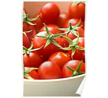 Freshly Picked Cherry Tomatoes  Poster