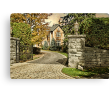 Rockliffe House - Ottawa Canvas Print