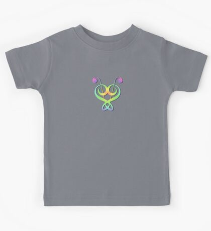 Cool Colorful Music Notes Kids Tee