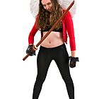 Avenging angle with a sword  by PhotoStock-Isra