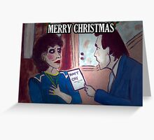 NAFF ORF - from the 'stenders xmas bust-ups range' Greeting Card