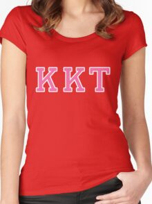 Scream Queens: Kappa Kappa Tau Women's Fitted Scoop T-Shirt