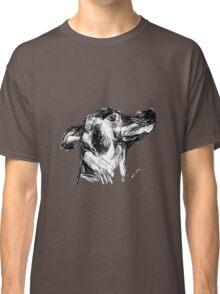 Dog Sketch (black&white) Classic T-Shirt