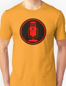 Vintage Red Microphone T-Shirt