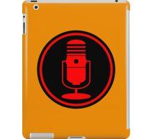Vintage Red Microphone iPad Case/Skin