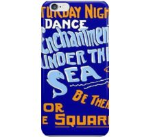 BTTF DANCE FLYER iPhone Case/Skin