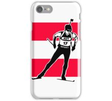 Austria Biathlon  iPhone Case/Skin