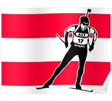 Austria Biathlon  Poster