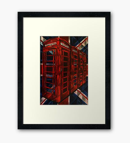 Iconic Britain Framed Print