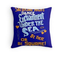 BTTF DANCE FLYER Throw Pillow