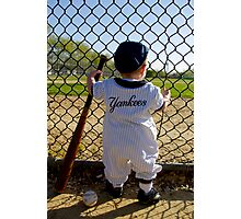 Little Slugger Photographic Print