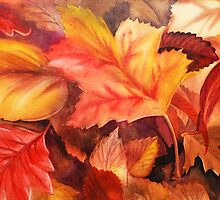 Fall Leaves by Irina Sztukowski