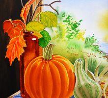 Pumpkin  by Irina Sztukowski
