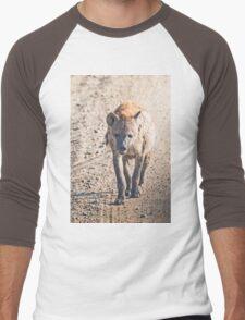 Hyena on the Road Men's Baseball ¾ T-Shirt