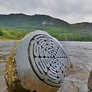 The Lake District: Millenium Stone, Close Up by Rob Parsons