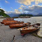 The Lake District: Evening at the Keswick Landing Stages by Rob Parsons