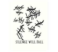 Silence Will Fall | Doctor Who Art Print