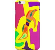 Yellow Sky Rain Lizard Pond Sand Tree Eyes iPhone Case/Skin