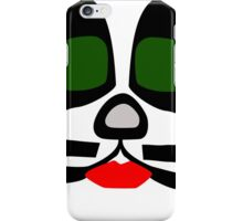 Peter Criss from KISS band, Catman makeup iPhone Case/Skin