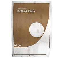 Indiana Jones Minimal Film Poster Poster