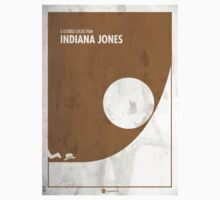 Indiana Jones Minimal Film Poster Baby Tee