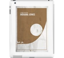 Indiana Jones Minimal Film Poster iPad Case/Skin