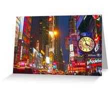 Bright Lights, Big City Greeting Card