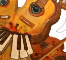 Musical Fantasy Bunny Sticker