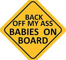 BABIES ON BOARD by ezcreative