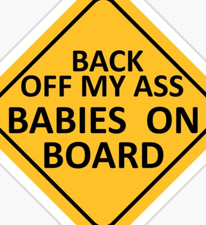 BABIES ON BOARD Sticker