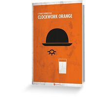 Clockwork Orange Film Poster Greeting Card