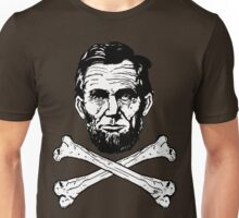 Lincoln and Cross Bones Unisex T-Shirt