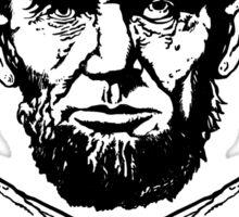 Lincoln and Cross Bones Sticker
