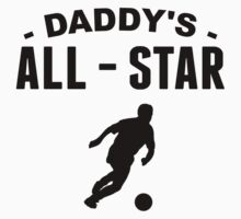 Daddy's All-Star Soccer One Piece - Long Sleeve