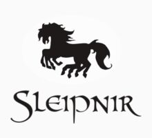 Sleipnir batman-esque logo by sorakaji