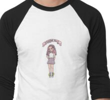 'lil chub club Men's Baseball ¾ T-Shirt