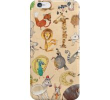 ABC Animals iPhone Case/Skin