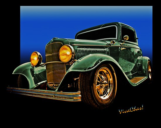 This 32 Ford Coupe Jumps Off The Page by ChasSinklier