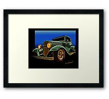 This 32 Ford Coupe Jumps Off The Page Framed Print