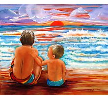 Beach Buddies II Photographic Print