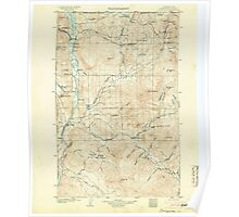 USGS Topo Map Washington State WA Osoyoos 243020 1904 125000 Poster