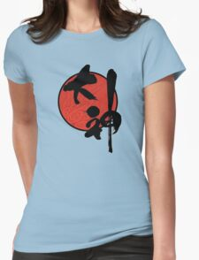 Okami 大神 Womens Fitted T-Shirt