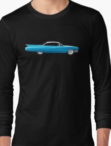 1960 Cadillac Coupe De Ville Long Sleeve T-Shirt
