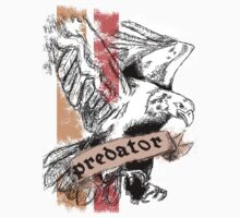 Predator Eagle with text by Sebwilgar