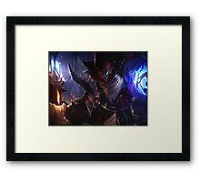 Master Arcainst Ziggs Framed Print