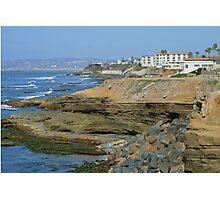 Sunset Cliffs California ~ Beautiful Homes Photographic Print